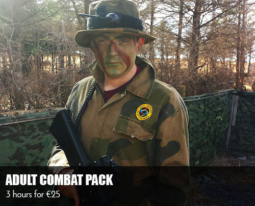 Laser Tag Galway - Adult Combat Pack