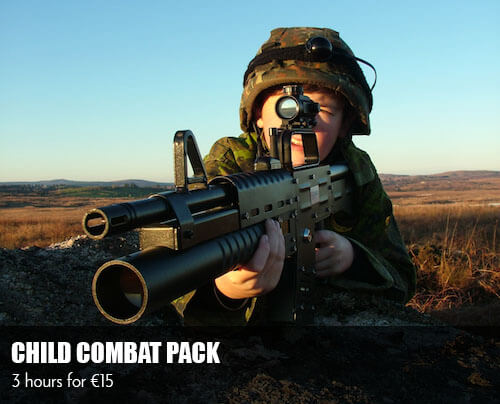 Laser Tag Galway - Child Combat Pack
