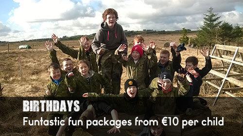 Children's birthday parties in Galway   Eile Mental Activity Park